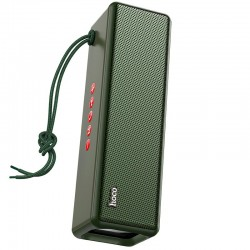 Портативная Bluetooth колонка Hoco HC3 Bounce sports wireless speaker (BT 5.0, AUX, USB, MicroSD) Dark Green