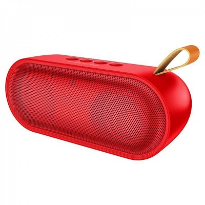 Портативная Bluetooth колонка Borofone BR8 Broad sound sports wireless speaker (BT 5.0, AUX, MicroSD, FM радио) Red