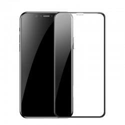 Защитное стекло для Apple iPhone XR / 11 Baseus Full Coverage Curved Tempered Glass Protector Black