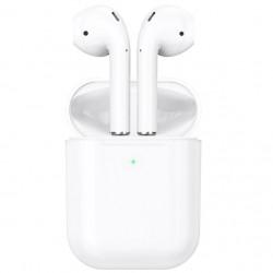 Беспроводные Bluetooth наушники Hoco DES03 Original series TWS wireless headset с зарядным кейсом White