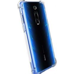 Силиконовый противоударный (с усиленными углами) чехол-бампер для Xiaomi Redmi 8 Прозрачный Без бренда