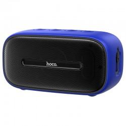 Портативная Bluetooth колонка Hoco BS43 Cool sound водонепроницаемая IPX7 (BT 5.0, AUX, MicroSD) Blue