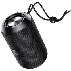 Портативная Bluetooth колонка Hoco HC1 Trendy sound с влагозащитой IPX5 (BT 5.0, AUX, USB, MicroSD, FM радио) Black