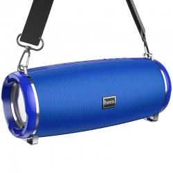Портативная Bluetooth колонка Hoco HC2 Xpress sport с влагозащитой IPX5 (BT 5.0, AUX, USB, MicroSD, FM радио) Blue
