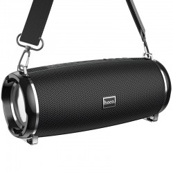 Портативная Bluetooth колонка Hoco HC2 Xpress sport с влагозащитой IPX5 (BT 5.0, AUX, USB, MicroSD, FM радио) Black