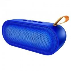 Портативная Bluetooth колонка Borofone BR8 Broad sound sports wireless speaker (BT 5.0, AUX, MicroSD, FM радио) Blue