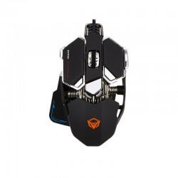 Игровая проводная мышь механическая с подсветкой Meetion MT-M990S Wired Backlit Mechanical Gaming Mouse USB black