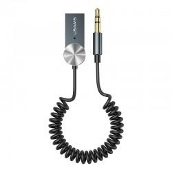 Аудио Bluetooth адаптер (ресивер) в авто Usams US-SJ464 Car Wireless Audio Receiver Black