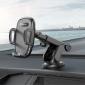 Держатель для телефона в авто на присоске Borofone BH53 Windy center console car holder Black