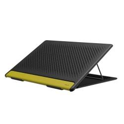 Подставка под ноутбук с регулируемым углом наклона Baseus Let's go Mesh Portable Laptop Stand Grey-yellow