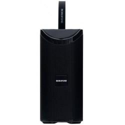 Портативная Bluetooth колонка Borofone BR5 Adventure sports wireless speaker с подсветкой (BT 5.0, AUX, USB, MicroSD, FM радио) Black
