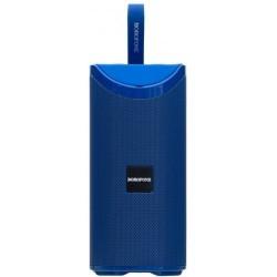 Портативная Bluetooth колонка Borofone BR5 Adventure sports wireless speaker с подсветкой (BT 5.0, AUX, USB, MicroSD, FM радио) Blue