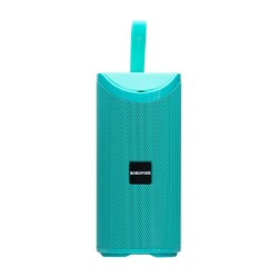 Портативная Bluetooth колонка Borofone BR5 Adventure sports wireless speaker с подсветкой (BT 5.0, AUX, USB, MicroSD, FM радио) Green