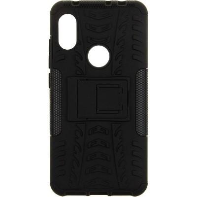 Противоударный чехол TOTO Dazzle kickstand 2 in 1 phone case Xiaomi Redmi 6 Note Black