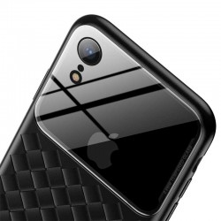 Чехол Baseus Glass and Weaving Case для Apple iPhone XR Black