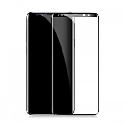 Защитное стекло Baseus All-screen Arc-surface 0.3mm для Samsung Galaxy S9 Black