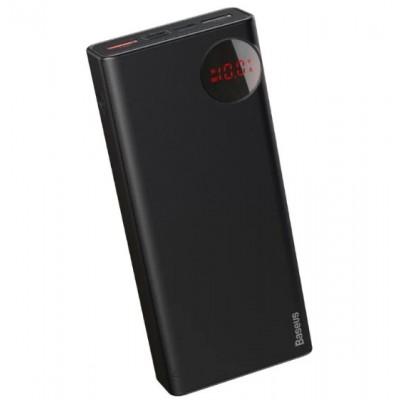 Power Bank Baseus Mulight Quick Charger Digital Display PD3.0+QC3.0 20000mAh Black