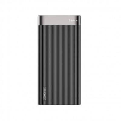 Power Bank Baseus Parallel Type-C 20000mAh PD+QC 18W Black