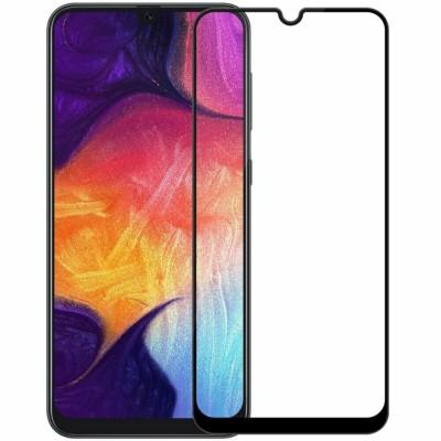 Защитное стекло Full Cover (с клеем по всей поверхности) для Samsung Galaxy A30S Black