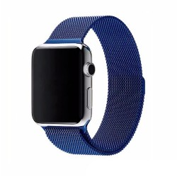 Ремешок Milanese Loop (Миланская петля) для Apple Watch 38mm/40mm Blue