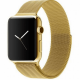 Ремешок Milanese Loop (Миланская петля) для Apple Watch 42mm/44mm Gold