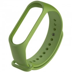 Ремешок для фитнес браслета Xiaomi Mi Band 3/4 Dark Green