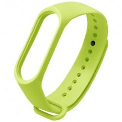 Ремешок для фитнес браслета Xiaomi Mi Band 3/4  Green