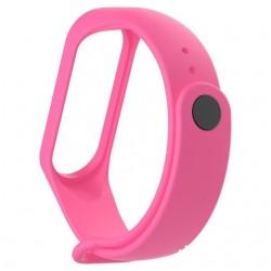 Ремешок для фитнес браслета Xiaomi Mi Band 3/4 Pink