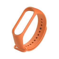 Ремешок для фитнес браслета Xiaomi Mi Band 3/4 Orange