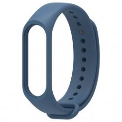 Ремешок для фитнес браслета Xiaomi Mi Band 3/4 Deep Blue