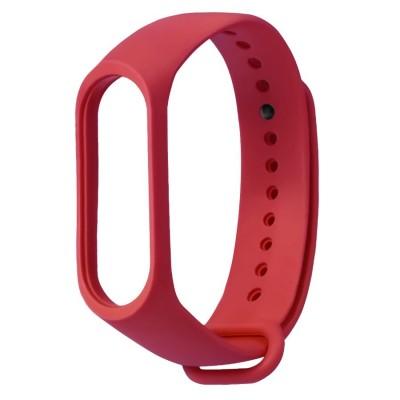 Ремешок для фитнесс браслета Xiaomi Mi Band 3/4 Red