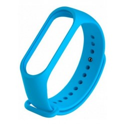 Ремешок для фитнесс браслета Xiaomi Mi Band 3/4  Blue