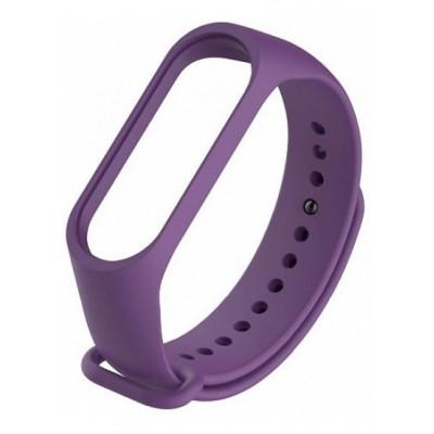 Ремешок для фитнесс браслета Xiaomi Mi Band 3/4 Purple