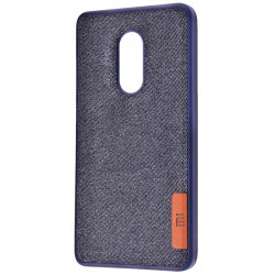Чехол Label Case Textile для Xiaomi Redmi 5 Blue