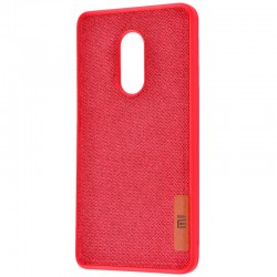 Чехол Label Case Textile для Xiaomi Redmi 5 Red