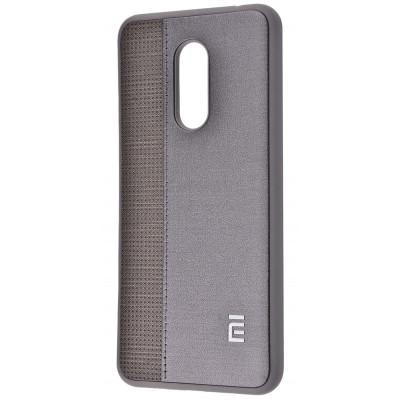 Чехол Label Case Leather + Perfo для Xiaomi Redmi 5 Plus Gray