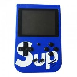 Портативная приставка с джойстиком Retro FC Game Box Sup dendy 400in1 Blue