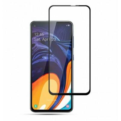 Защитное стекло 9D для Samsung Galaxy M40 Black
