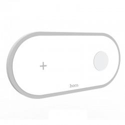Беспроводное зарядное устройство 2в1 Hoco CW20 (для Apple Watch, iPhone) White
