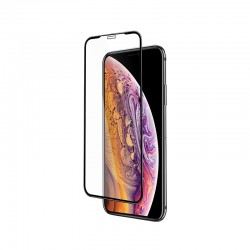 Защитное стекло Hoco Flash attach full screen silk screen HD (G1) для Apple iPhone XR Black