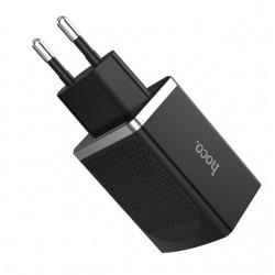 Сетевое зарядное устройство Hoco C42A Vast power Quick Charge 3.0 (1USB, 3.0A) Black