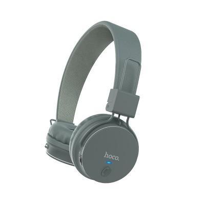Беспроводные Bluetooth наушники Hoco W19 Easy move Gray