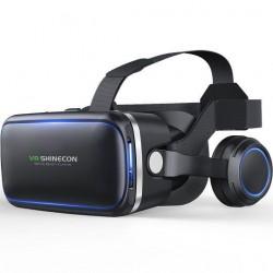 Очки виртуальной реальности с наушниками Shinecon VR SC-G04E Black