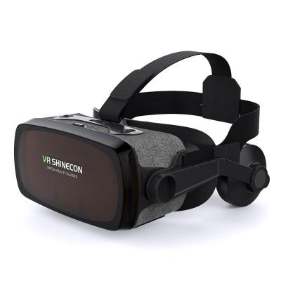 3D Очки виртуальной реальности с наушниками Shinecon VR SC-G07E Black