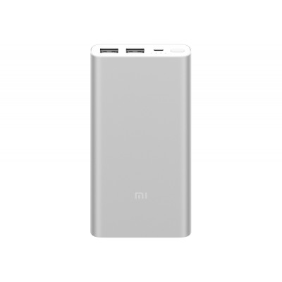 Внешний аккумулятор Xiaomi Mi Power Bank 2S 10000 mAh Silver (QC 3.0) (2USB)