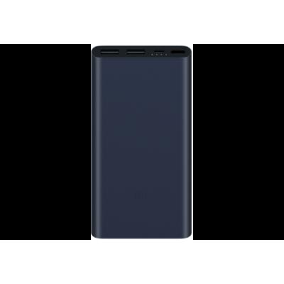Внешний аккумулятор Xiaomi Mi Power Bank 2S 10000 mAh Black (QC 3.0) (2USB)