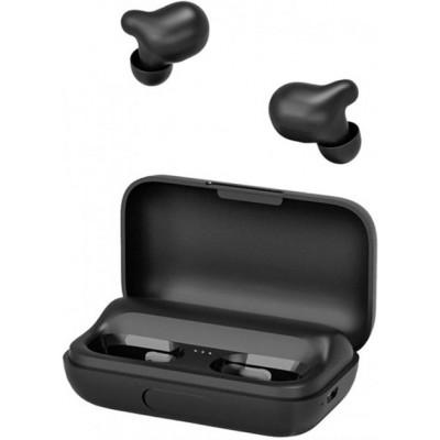 Беспроводные Bluetooth наушники Haylou T15 с зарядным кейсом Black (Global Version)