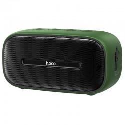 Портативная Bluetooth колонка Hoco BS43 Cool sound водонепроницаемая IPX7 (BT 5.0, AUX, MicroSD) Green
