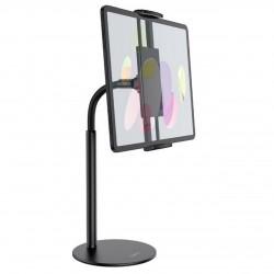Настольный держатель (крепление) для телефона или планшета Hoco PH30 Soaring series metal desktop stand Black