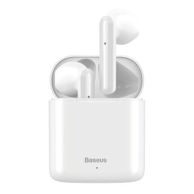 Беспроводные Bluetooth наушники Baseus Encok W09 TWS White